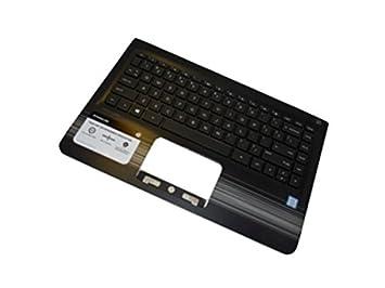 HP 856037-071 Carcasa inferior con teclado refacción para ...