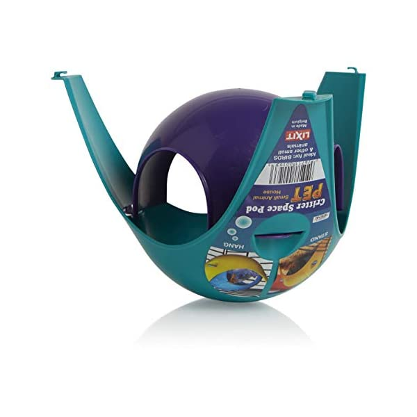 Lixit Critter Space Pod, Perfect for Small Animals 4