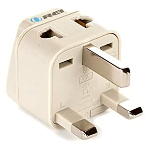 Amazon Com Orei Grounded Universal 2 In 1 Plug Adapter