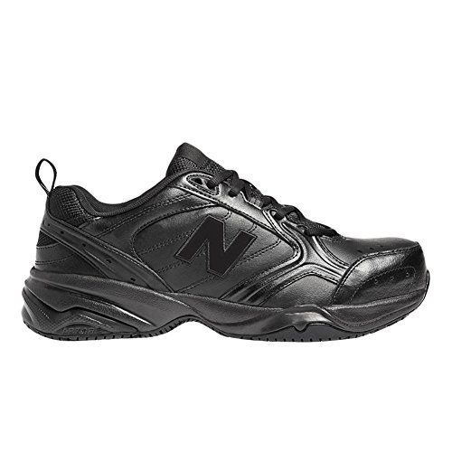 New Balance Men's MID627 Steel-Toe Work Shoe,Black,12 D (Leather Steel Toe Sneakers)