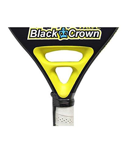 pala de padel Black Crown Wave: Amazon.es: Deportes y aire libre