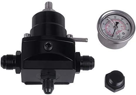 Fuel Pressure Regulator New Black High Pressure Fuel