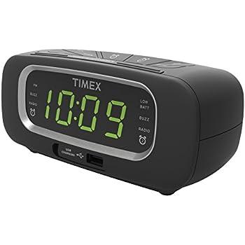 amazon com timex t276b stereo clock radio nature and bell sounds rh amazon com Timex Nature Sounds Clock Manual Timex Nature Sounds Manual