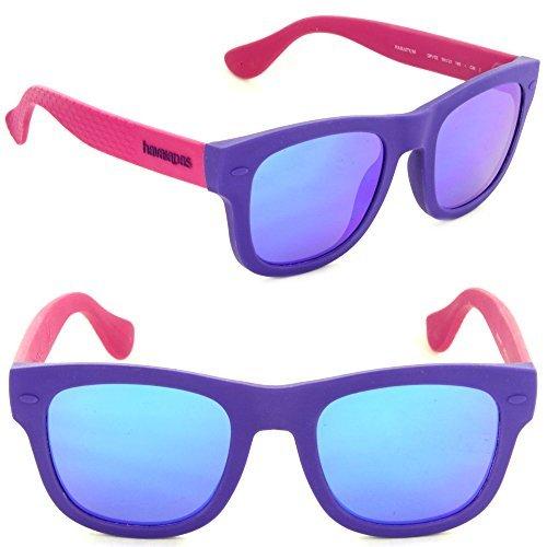 Havaianas Paraty/m Square Sunglasses, Vlt Fchsi, 50 - Sunglasses Vlt