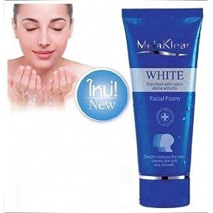 White Melasma Enriched with Nano Alpha Arbutin Facial Foam 80 G.
