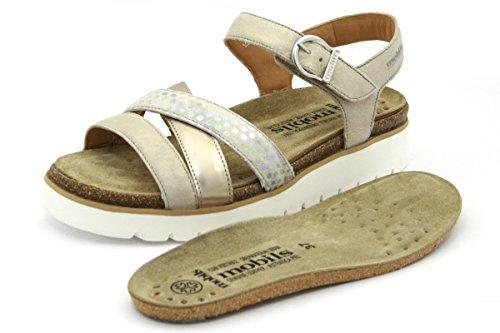 T2057 Muoti Naisten Beige Sandaalit Mefisto 85AqYnaWEf