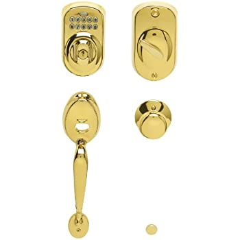 Schlage Fe365 V Ply 505 Ply Plymouth Keypad Deadbolt With