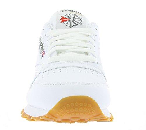 white Reebok ginnastica Cl Int Lthr Gum Uomo da Scarpe 0w0F4qBr