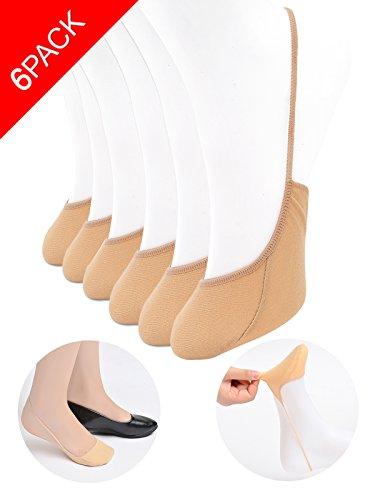 No Show Socks Women Non-Slip Ultra Low Cut Socks for Girl Liner Socks for Pumps (Plus Slip Non)