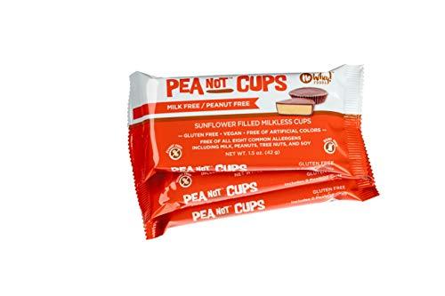 No Whey Large Chocolate Peanot Butter Cups (3 Pack) Peanut Free, Milk Free Vegan… ()