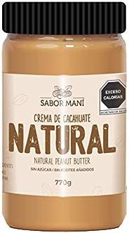 SABOR MANI - Crema de cacahuate natural 770g