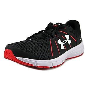 Under Armour Men's UA Dash RN 2 Running Shoes (11.5, Black/Red/White)
