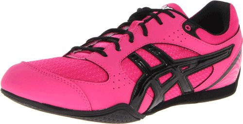 ASICS Women's Rhythmic 2 Cross-Training Shoe,Hot Pink/Black/White,5.5 M US