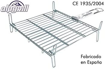 Homestyle 2454140031 - Parrilla Doble zincada de Acero Inoxidable ...