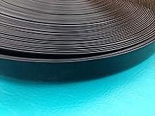 "NickHouse 1.5"" Vinyl Chair Strapping Outdoor Patio Furniture Repair 20' Matte Finish (Dark Brown)"