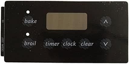 ForeverPRO 316220705 Overlayclock Black for Tappan Range 917854 AH439799 EA439799 PS439799