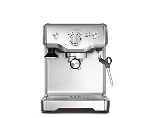 Breville Duo Temp Pro Espresso Machine, Stainless Steel Metal Espresso Maker
