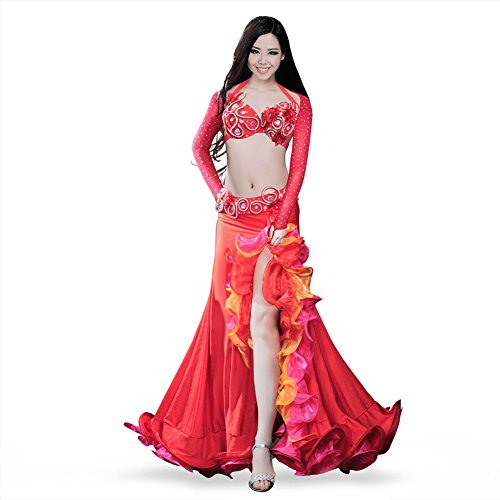 ROYAL SMEELA Belly Dance Costume Set for