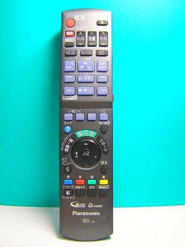 Panasonic ブルーレイディスクレコーダー用リモコン N2QAYB000554 product image
