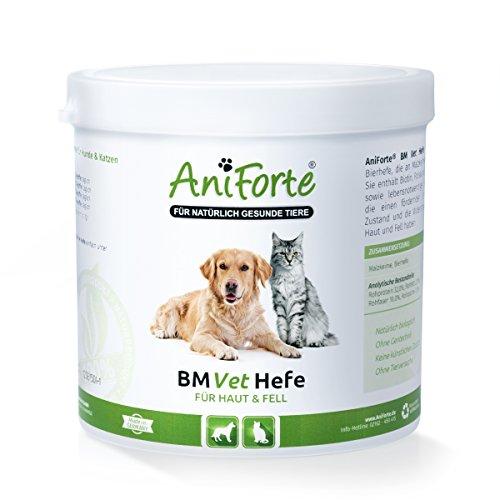 AniForte BM Vet Hefe 500 g - Naturprodukt für Hunde und Katzen