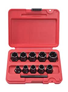 Stanley Proto  J69X00  Bolt Extractor Socket, Set, 10-Piece