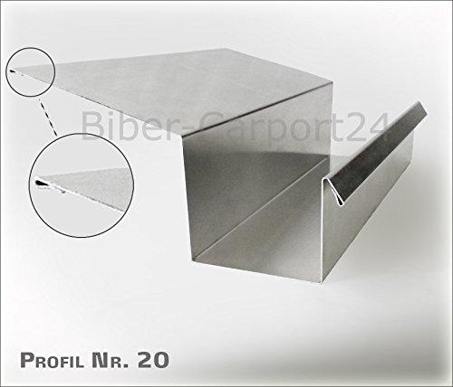 Kastenrinne 20-1 in Aluminium (20-1 Aluminium)