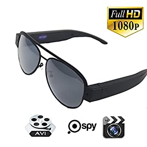 JOYCAM Sunglasses with Camera HD 1080P Video Recording Eyeglasses Sports Action Camcorder