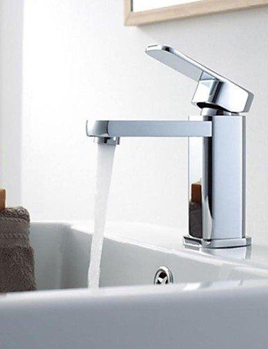 Einhand-Chrom Waschbecken Wasserhahn