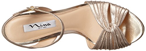 Camille FY Sandal Women's Taupe Dress Nina wqF887
