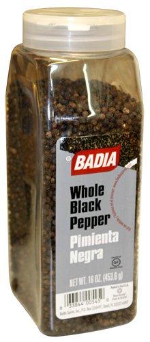 Badia Pepper Black Whole 16 oz