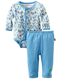 Magnificent Baby Boy's Kites Burrito Onsie and Pants Set, Kites, 6-Months