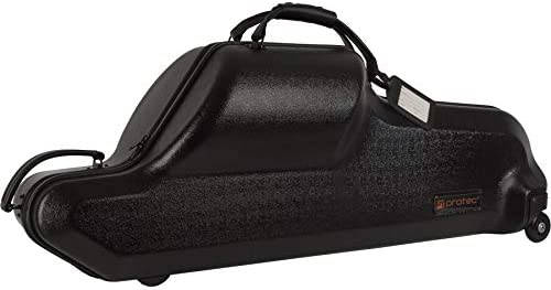 Protec Baritone Saxophone Case (Bb and Low A), ABS Shell Protection, Zip Series (BLT311CT)