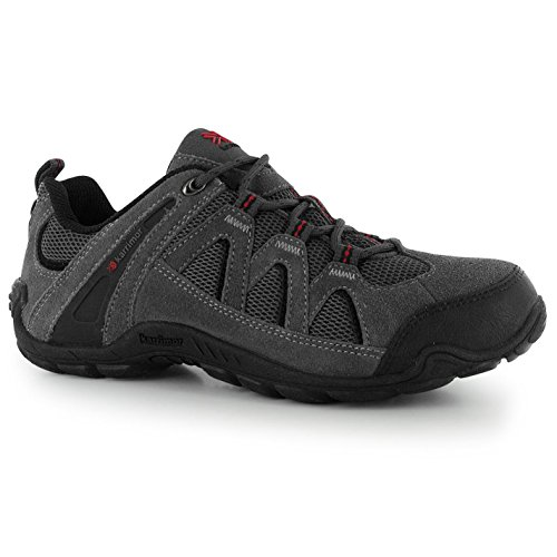 half off 05d77 5f72c Karrimor Mens Footwear Summit Lace Up Walking Shoes Hiking Trekking New  Charcoal 11.5(45.5)