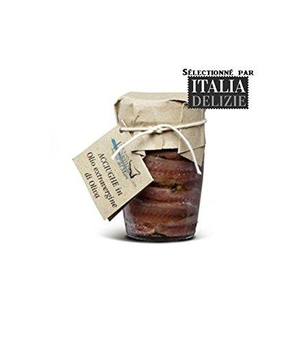 Sicilian Exquisiteness - FILETS D ANCHOIS SICILIENS A L HUILE D OLIVE 80GR - Produit artisanal italien