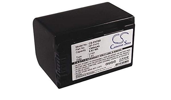 Camera Battery for Sony DCR-HC37E DCR-HC39E DCR-HC40E DCR-HC42E 2800mAh