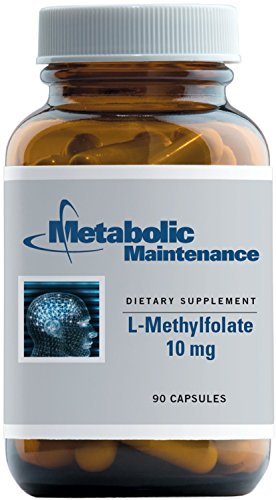 Metabolic Maintenance - L-Methylfolate - 10 mg 5-MTHF, 90 Capsules