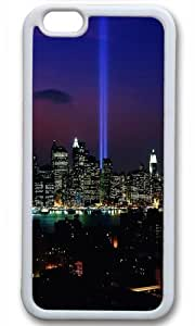 City Night Landscape Custom Case for iPhone 6 TPU White by Cases & Mousepads