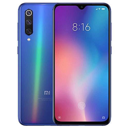 Xiaomi Mi 9 6GB RAM 64GB ROM Snapdragon 855 6.39 Inch Triple Camera Fingerprint Screen Smartphone Global Version -Ocean Blue ()