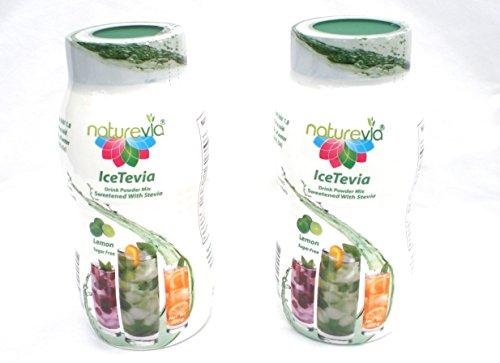 Sugar free Iced Tea Powder Drink Mix with stevia Lemon Ic...