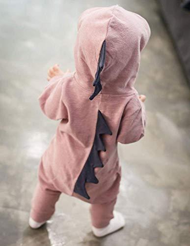 0 en dinosaure 18 pour âgés garçons fille Zhrui enfants de Combinaison à avec hiver capuche mois bébé pour F78qvUOw