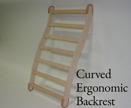 Curved Ergonmic Backrest