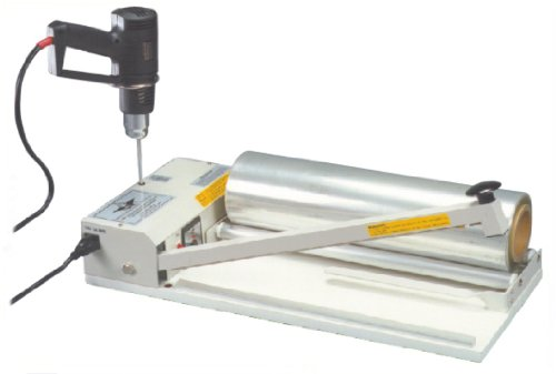 AIE-2024I 24'' I-Bar Shrink Wrap Machine - Sealer w/ Heat Gun by AEI
