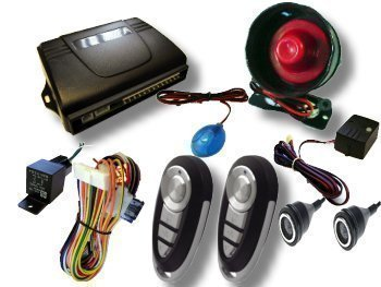 Remote Central Locking Car Alarm And Immobiliser With Electric Boot Release  And Ultrasonic sensors