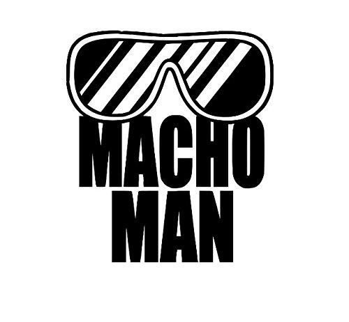 Macho Man Randy Savage WWE NXT Wrestling Wrestler Vinyl Decal Bumper Computer Sticker - Sticker Savage