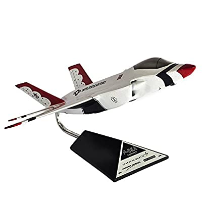 Mastercraft Collection JSF Thunderbird Desktop Model Kit, White