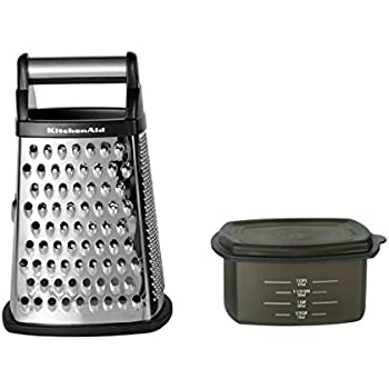 Amazon.com: KitchenAid Gourmet Fine Stainless Steel Zester/Grater ...