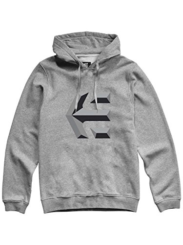 Pullover Icon Color Mod Etnies Man heather Grey S Grey Size heather xqwIwP