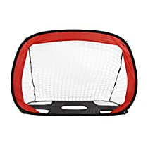 OUTAD Football Gate Kids Children Foldable Portable Soccer Training Net Goal Gate, Perfect for Indoor & Outdoor Sports and Practice (2 in1 Kids Football Gate)
