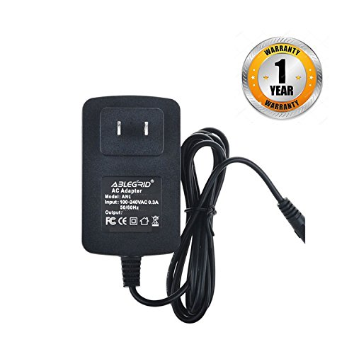 ABLEGRID 4ft Small AC DC Adapter for DeVilbiss Vacu-Aide 7310 Series Compact Suction Unit 7310PR-D 7310PRD VacuAide Portable Aspirator Machine Power Supply Cord Cable PS Charger Mains PSU ()