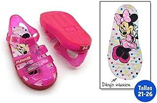 Chaussures été enfant Minnie Fuchsia–Taille E2–Taille E2 IDEALCASA KIDS